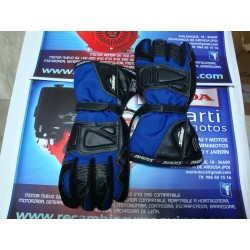 Guantes moto Silmar Azul