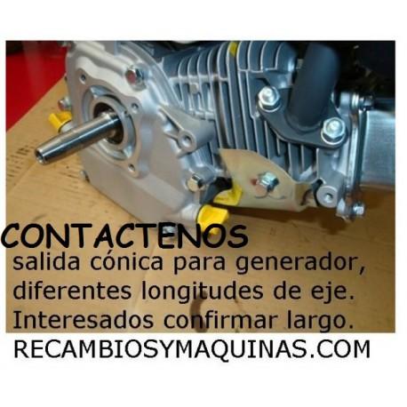 Cigueñal Honda GX 200 270 390 conico Ø 22 22,1 22,4 Largo 45 75