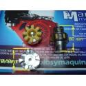 Acoplamiento motor - bomba elastico flexible albert alador