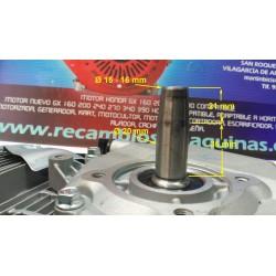 motor generador  motocultor pequeño  160 200 salida conica compatible HONDA GX