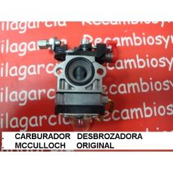Carburador desbrozadora mcculloch elite cabrio 3900 4000 4100 4300 4700 4730 WALBRO WYJ 183 208