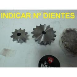 Piñon maquina kart atv quad buggy traccion remolque elevador pinon embrague 10 11 12 13 14 15 16 17 dientes