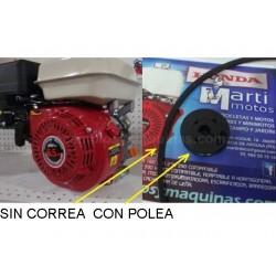 MOTOR PIVA 6.5 cv con Polea honda gx compatible piva