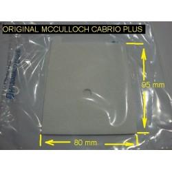 Filtro de aire desbrozadora Mcculloch  Cabrio Plus 347 407 467 497