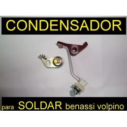 Condensador Benassi  Volpino ga Minarelli I 90 125 rl 40 75 80 motassa motasa benasi ruptor platino