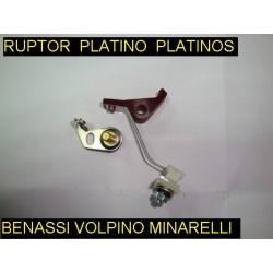 Platinos Benassi rl 40 75 80 Volpino ga Minarelli I 90 125 motassa motasa benasi ruptor platino