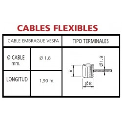 CABLE EMBRAGUE MOTOCULTOR MARTILLO GRANDE 10X12