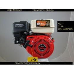 Motor con embrague y reductora kart buggy Honda gx ohv minicar minikart mini kart k7r motores 160 200 270 390