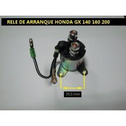 Rele de Arranque Honda Gx 140 1600 200 Solenoide