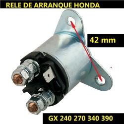Rele de Arranque 12V 3 Bornes Honda Gx 240 270 340 390 Solenoide