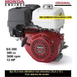 Motor Honda GX 390 ORIGINAL Eje 25