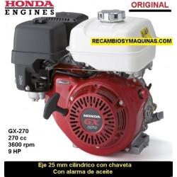 Motor Honda GX 270 ORIGINAL Eje 25