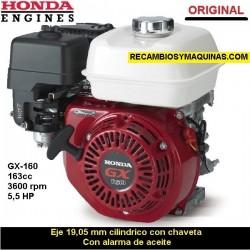 Motor Honda GX 160 ORIGINAL Eje 19