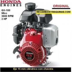 Motor Honda GX 100 ORIGINAL Eje 15