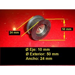 polea rodamiento tensor motoazada mcculloch husqvarna partner pubert honda 42 mm 531204430