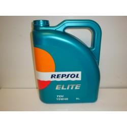 Aceite Repsol Elite TDI - 15W - 40