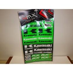Adhesivos  pegatinas Kawasaki vinilos pegatas