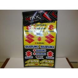 Pegatinas Adhesivos Suzuki vinilos pegatas